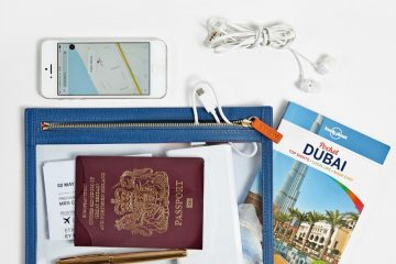 Topaz blue Seeview Travel Pouch
