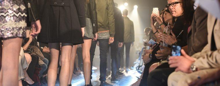 Superdry Elite Model Look UK Finalists catwalk