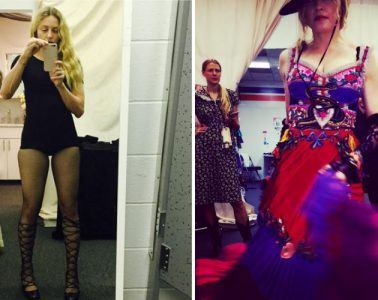 madonna tour costumes instagram