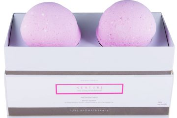 AromaWorks bath bombs gift set