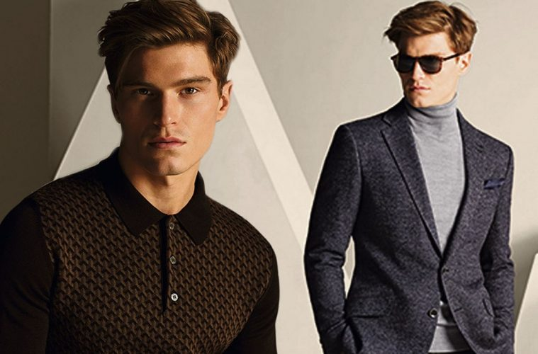 Oliver Cheshire models for M&S Autograph range
