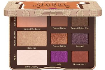 Too Faced palette slightly open