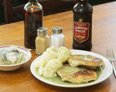 Goddards at Greenwich pie mash and liquor