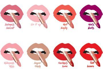 Charlotte Tilbury hot lips shades