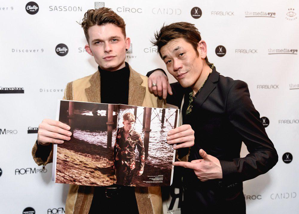 Photographer Yoshitaka Kono and model