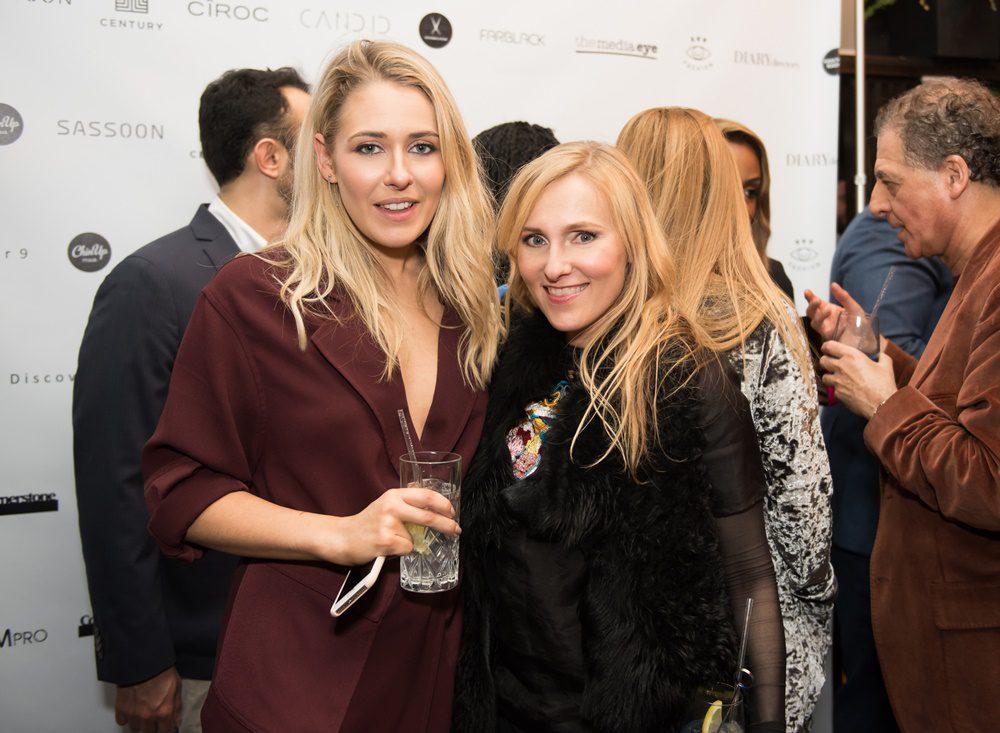 Stefanie Jones with Candid Editor Courtney Blackman