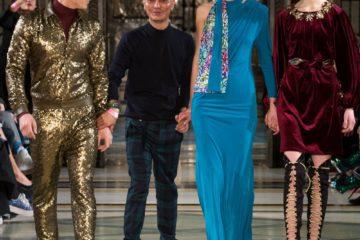 Ashley Isham AW17 catwalk show at London Fashion Week