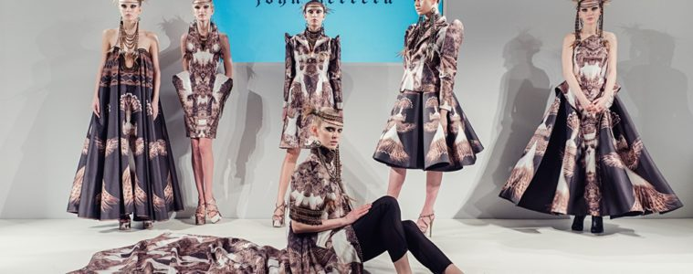 John Herrera's Agila Collection presented at Fashion Scout.