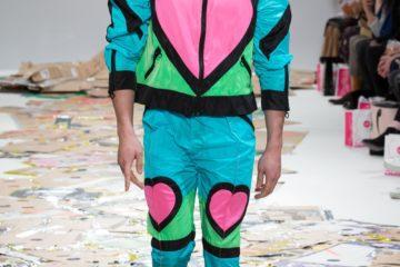 Angus Chiang AW17 catwalk show at London Fashion Week