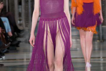 Mark Fast AW17 catwalk show at London Fashion Week