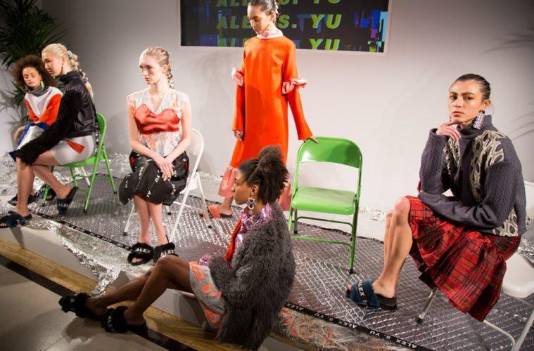 Alex S. Yu AW17 at London Fashion Week