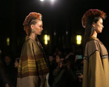 Happy Andrada AW17 at London Fashion Week_