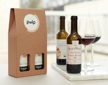 Pulp wine tasting subscription box