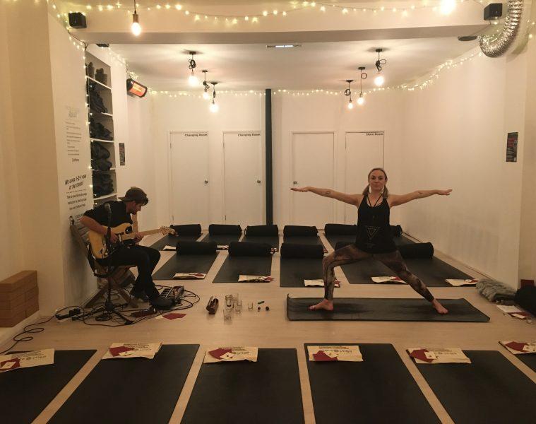 More Yoga London late night lock ins