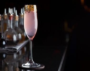 The Wild Orchid Cocktail at Novikov bar