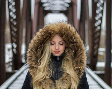 5 stylish ways to wear a shaggy faux fur coat this winter